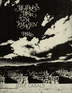 Front Cover : Palabras para una imagen