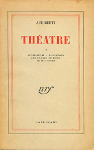 Front Cover : Theatre