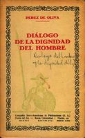 Diálogo de la dignidad del hombre [1928]. Biblioteca