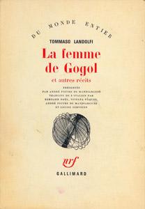 Front Cover : La femme de Gogol et autres récits