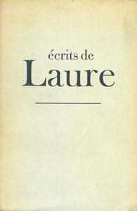Front Cover : Ecrits de Laure