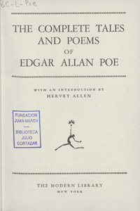 Front Cover : The complete tales and poems of Edgar Allan Poe