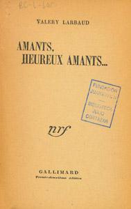 Front Cover : Amants, heureux amants