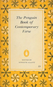 Cubierta de la obra : The Penguin Book of Contemporary Verse