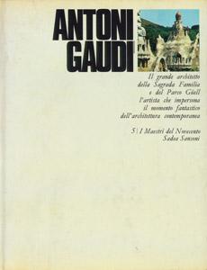 Cubierta de la obra : Antoni Gaudi