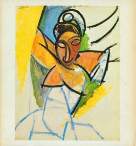 Cubierta de la obra : Picasso