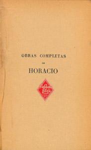 Front Cover : Obras completas de Horacio