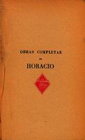 Obras completas de Horacio []. Biblioteca