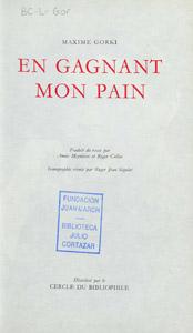 Front Cover : En gagnant mon pain