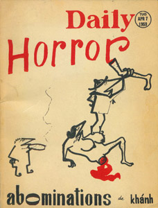Front Cover : Daily horror