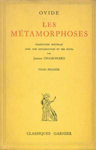Front Cover : Les Métamorphoses