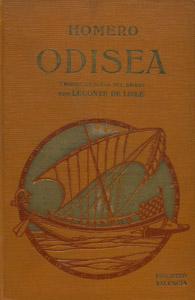 Cubierta de la obra : Odisea