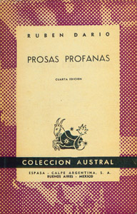 Front Cover : Prosas profanas
