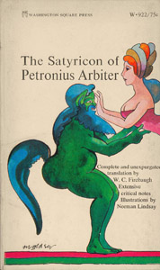 Cubierta de la obra : The Satyricon of Petronius Arbiter