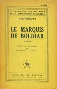 Front Cover : Le Marquis de Bolibar