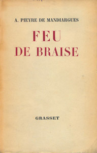 Front Cover : Feu de braise