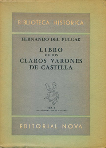 Front Cover : Libro de los claros varones de Castilla
