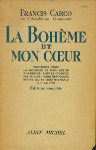 Front Cover : La Bohème et mon coeur