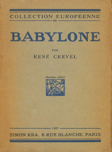 Front Cover : Babylone