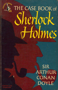 Front Cover : The case book of Sherlock Holmes
