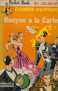 Front Cover : Runyon a la carte