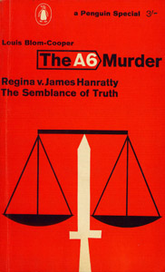 Cubierta de la obra : The A6 murder Regina v. James Hanratty