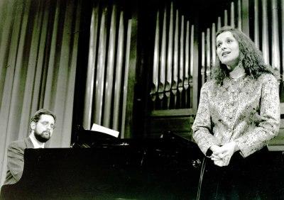 Milagros Poblador y Manuel Burgueras. Recital de canto y piano