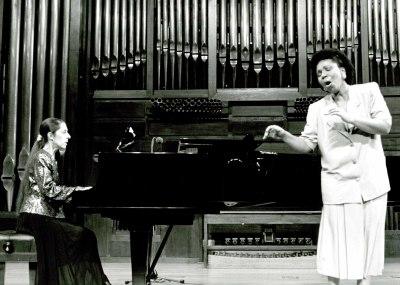 Mayda Galano y Juana Peñalver. Recital de canto y piano