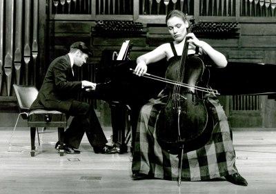 Suzana Stefanovic y Mac McClure. Concierto El violonchelo romántico