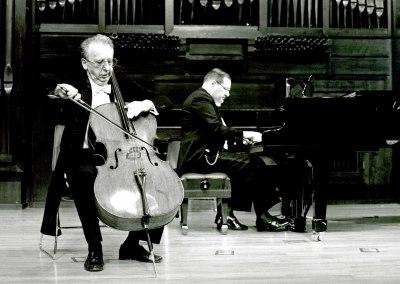 Mikhail Khomitser y Luis Rego. Concierto El violonchelo romántico