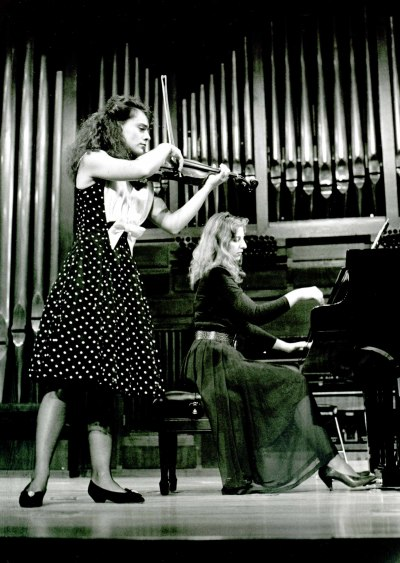 Kremena Gantcheva y Mariana Gurkova. Concierto Escuela Superior de Música Reina Sofía