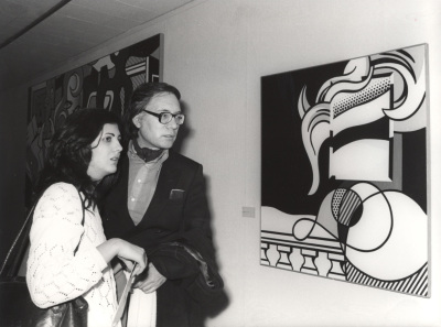 Francisco Umbral. Exposición Roy Lichtenstein 1970-1980