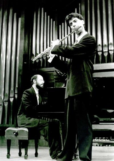 Manuel Rodríguez Arribas y Sebastián Mariné. Recital de flauta y piano