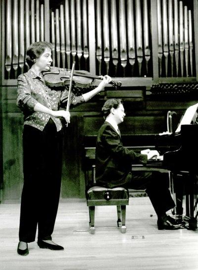 Mirian del Castillo y Francisco Luis Santiago. Recital de viola y piano