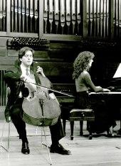 Ricardo Sciammarella y Eva Pereda Ansa. Recital de violonchelo y piano