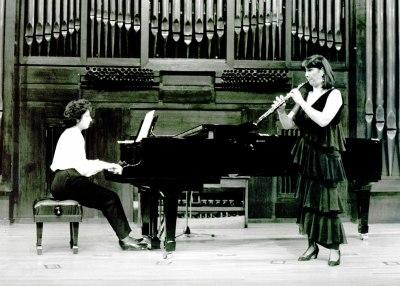 Carmen Guillem y Isabel Fátima Hernández. Concierto Del oboe barroco al contemporáneo