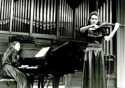 Eva León y Natalia Koval. Recital de violín y piano