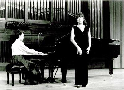 Pilar Jurado y Elena Aguado. Recital de canto y piano