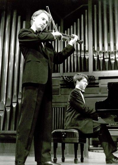 Escuela Superior de Música Reina Sofía, Berrat Korfker y Graham Jackson. Recital de violín y piano