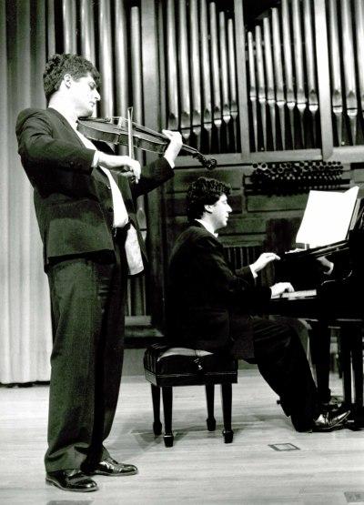 Álvaro Arrans y Jesús María Gómez. Recital de viola y piano