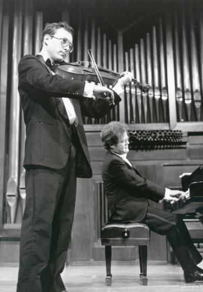 Claudio Medina y Aníbal Bañados. Recital de viola y piano