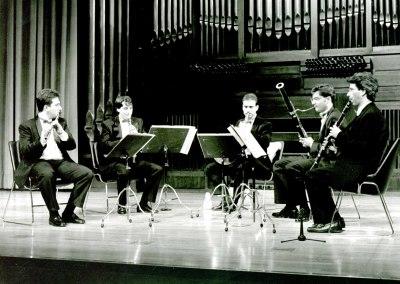 Quinteto Cuesta. Concierto Cuatro quintetos