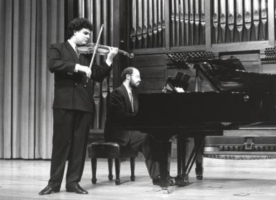 Joaquín Torre y Sebastián Mariné. Recital de violín y piano