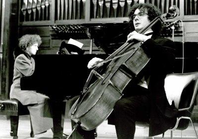 Mª Eugenia Jaubert Rius y Miguel Jaubert Rius. Recital de violonchelo y piano
