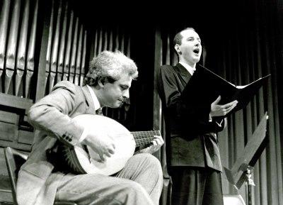 Rafael Benatar y Luis Vincent. Concierto Canciones de amor