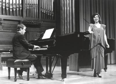 María Aragón y Fernando Turina. Concierto Canciones de amor