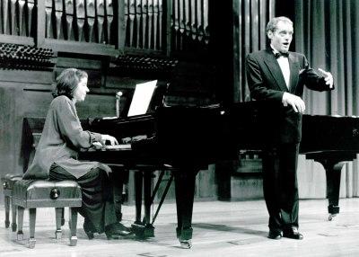 Peter Cloe y Beatriz Lopardo. Recital de canto y piano