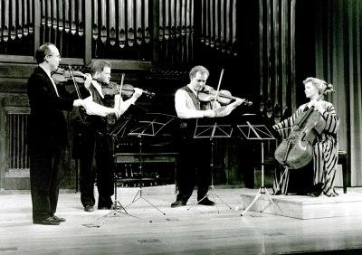 Brodsky Quartet. Concierto Webern-Bartók: música de cámara