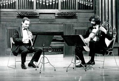 Francisco Castillo y Santiago Figueras. Recital de oboe y guitarra