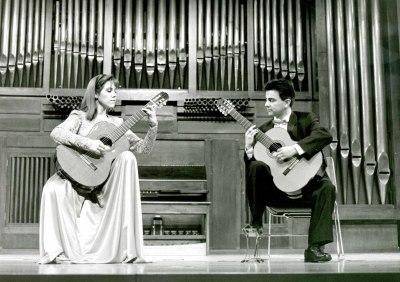 Carmen María Ros y Miguel García Ferrer. Concierto Castelnuovo-Tedesco y la guitarra